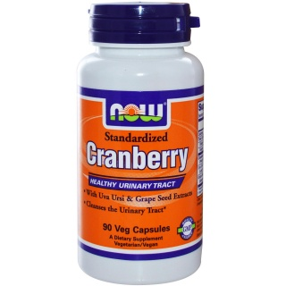 Cranberry 90 caps Now Клюква