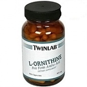 L-Ornithine 500 mg 100 капс Twinlab