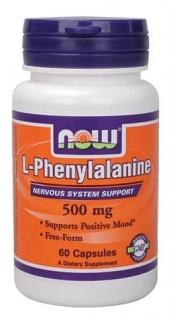 L-Phenylalanine 500 mg 60 caps Now