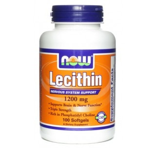 Lecithin 380 mg 100 caps Now