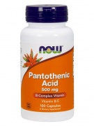 Pantothenic Acid 500 mg Now