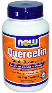 Quercetin 120 caps With Bromelain