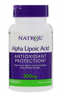 Alpha Lipoic Acid 300 mg 50 капс NATROL