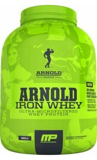 Arnold Iron Whey 2270 gr протеин