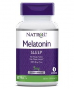 Melatonin 5 mg 60 Tabs Natrol