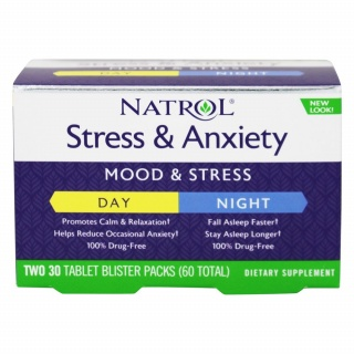Stress& Anxiety 60 Tabs Natrol