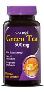 Green Tea 500mg 60 caps Natrol