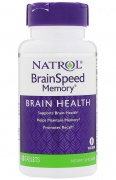 Brain Speed 60 Tabs Natrol