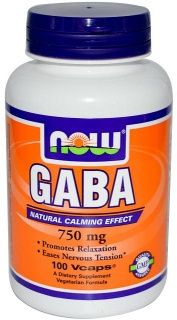 GABA 750mg 100Caps Now