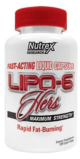 Lipo-6 Hers 120 капс Nutrex