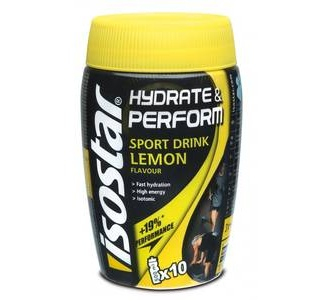 Изотоник Hydrate & Perform 400gr Isostar