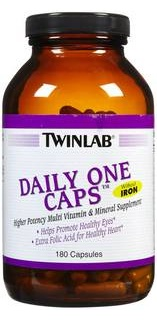 Daily One caps с железом 90 капс Twin lab