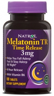 Melatonine 3 mg 100 tabs Time Release Natrol