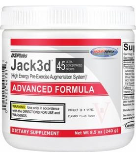 Jack 3d USP Labs 250gr ADVANCED FORMULA