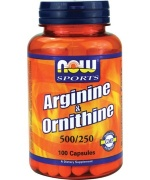 Arginine+ornithine 500mg/250 -100caps