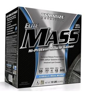 Elite mass gainer 5 kg Dymatize