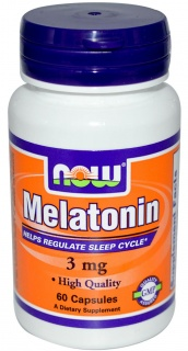 Melatonin 3 mg 60 caps Now