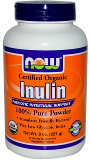 Inulin Pure Powder 227gr Now