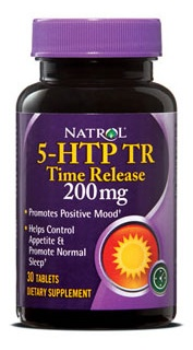5-HTP time release 200 mg 30 tabs Natrol