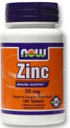 Zinc Gluconate 50 mg NOW 100 Tabs