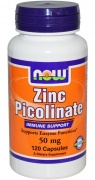 Zinc Picolinate 50 mg 120 caps Now