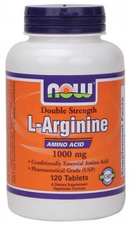 L-arginine 1000mg 120tabs Now