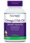 Omega-3 Fish Oil 1200 mg 60 caps Natrol