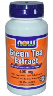 Green Tea Extract 400mg 100caps Now
