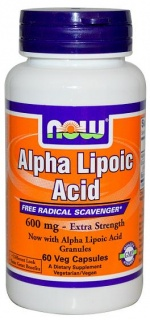 Alpha Lipoic Acid 600 mg 60 caps Now