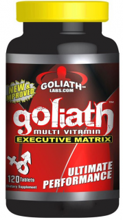 Goliath Multi Vitamin 120tabs Goliath Labs