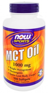 MCT OiL 1000mg 150 caps Now