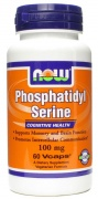 Phosphatidyl Serine 100mg 60 caps Now