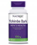 Yohimbe Bark 500mg 90caps Natrol
