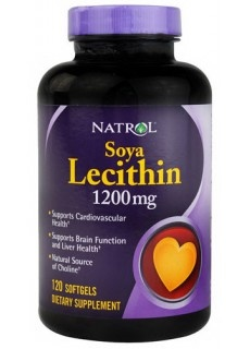 Soya Lecithin 1200mg Natrol