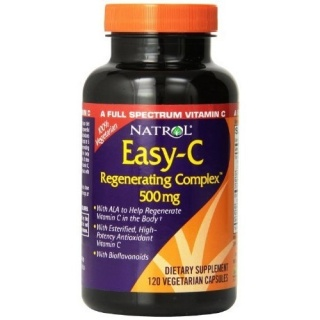 Easy C 500mg Regeneration Complex 120 caps Natrol