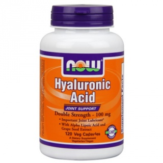 Hyaluronic Acid 100 mg 120 Caps Now