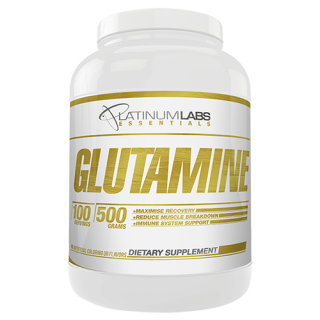 Glutamine 500g Platinum Labs