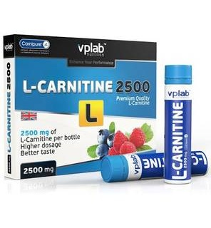 L-Carnitine 3000mg Liquid 7 амп VP-Lab