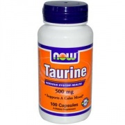 L-Taurine 500 mg 100 caps NOW