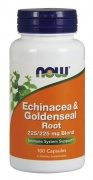 Echinacea & Goldenseal Root 100 caps Now