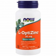 L- OptiZinc 30 mg 100 caps Now