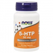 5-HTP  30 Capsules 50 mg Now