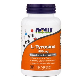 L-Tyrosine 500 mg 120 caps Now