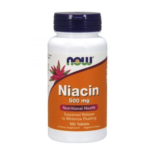 Niacin 500 mg 100 Tabs Now