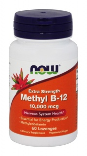 Methyl B-12 10000mcg 60 Lozenges