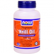 Krill Oil 500 mg 120 softgels Now
