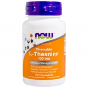 Theanine 100 mg 90 Chewables Now
