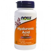 Hyaluronic Acid 50 mg 60 caps Now