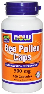 Bee Pollen 500 mg 100 caps Now