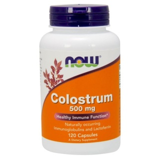 Colostrum 500mg 120 caps Now
